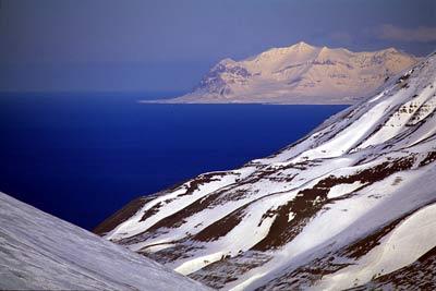 La couverture de glace en mer de Barents au plus bas